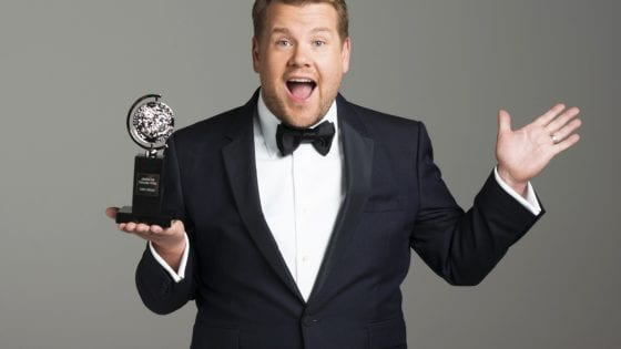 James Corden è l'host dei Tony Awards 2019