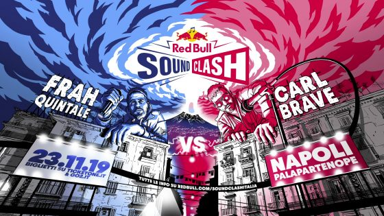 Sold out a Napoli per Red Bull SoundClash con Carl Brave e Frah Quintale